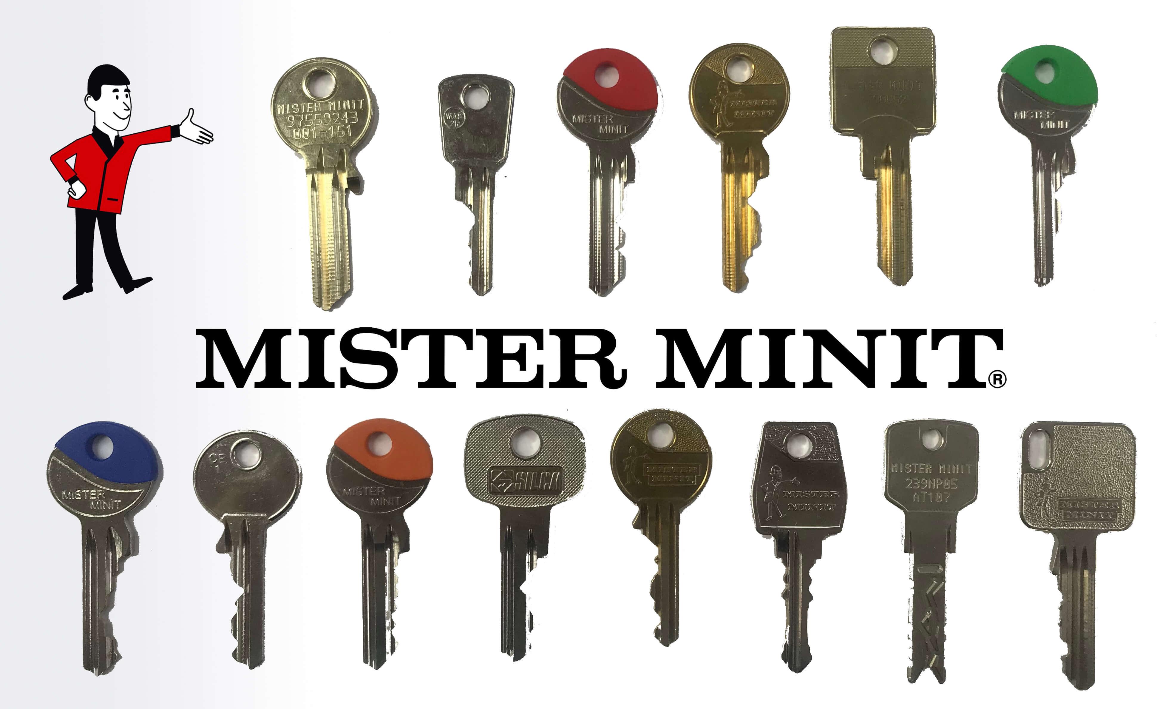 Bekannt Schlüssel nachmachen lassen – was wird dafür benötigt? - MISTER MINIT RF33